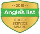 Angies List 2015 Award